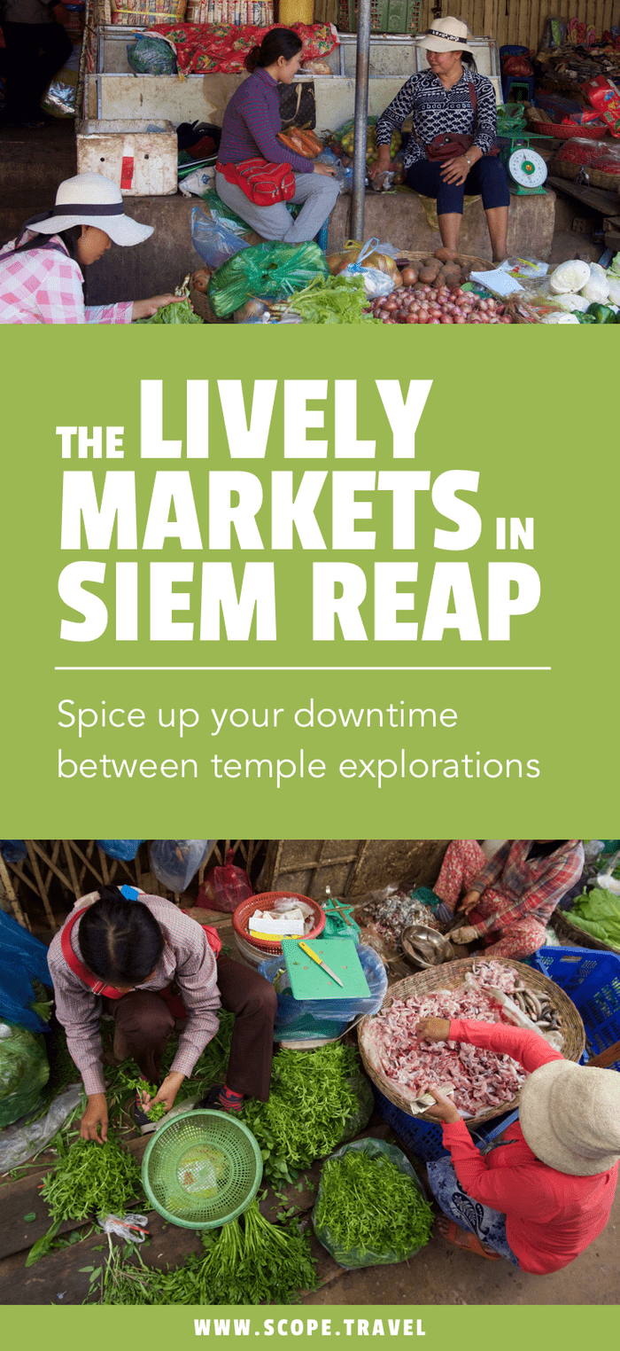 Markets you must visit while visiting Siem Reap
