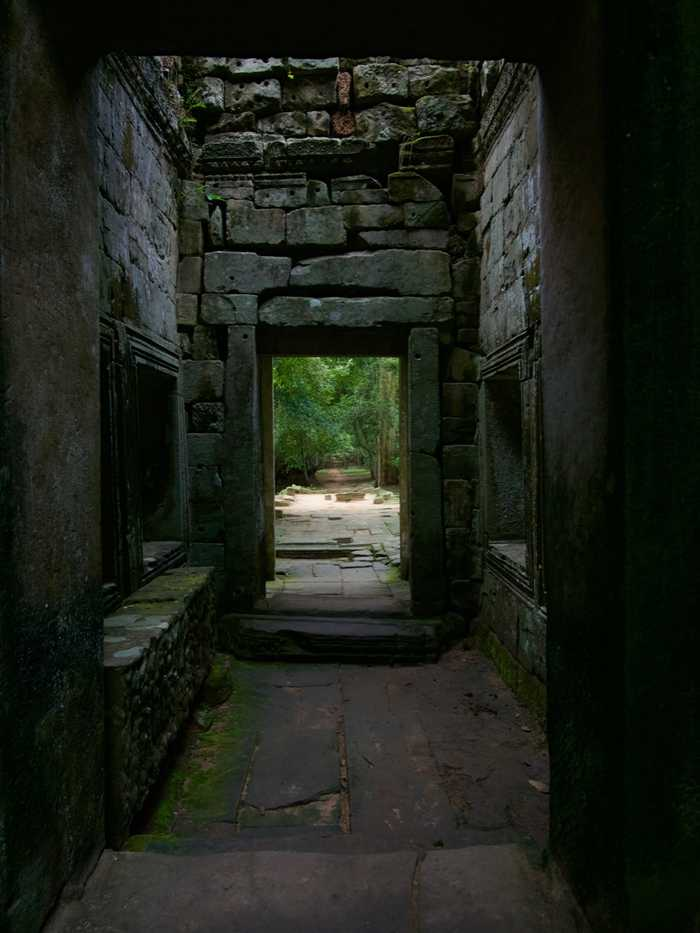 Preah Khan doorway
