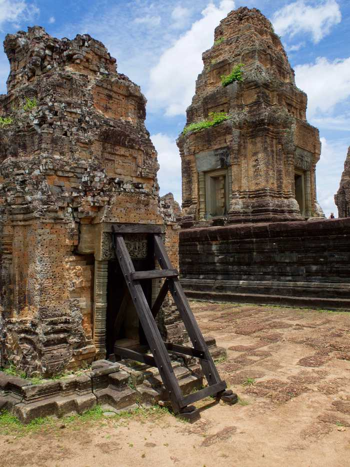 East Mebon Temple pillars